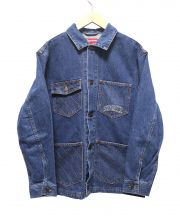 SUPREME(シュプリーム)の古着「Diamond stitch chore coat」 インディゴ