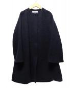 DRESSTERIOR(ドレステリア)の古着「ミーテループシャギーコート」|ネイビー