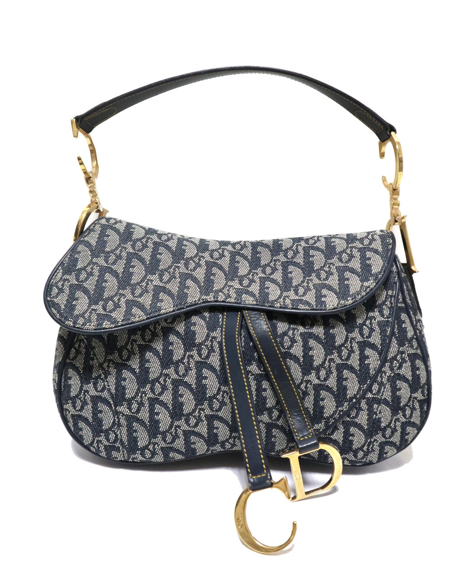 save off fd4b3 be1a8 [中古]Christian Dior(クリスチャン ディオール)のレディース バッグ サドルショルダーバッグ