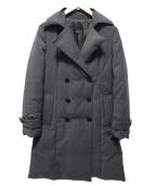 iCB(アイシービー)の古着「トレンチ型ダウンコート」|グレー
