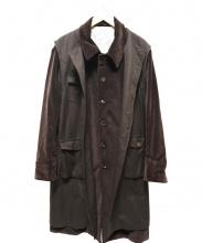 IROQUOIS(イロコイ)の古着「コーデュロイ3WAYコート」|ブラウン