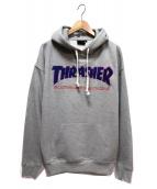 THRASHER(スラッシャ)の古着「ロゴパーカー」|グレー