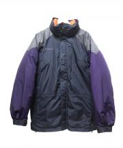 Columbia(コロンビア)の古着「ダウンジャケット」|グレー×パープル