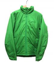 Patagonia(パタゴニア)の古着「マイクロパフジャケット」|黄緑