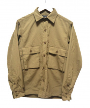 CORONA×GFCP(コロナ×ジーエフシーピー)の古着「コンバットハイカーシャツ」 カーキ