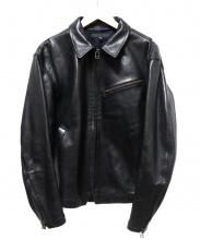 HAROLDS GEAR(ハロルズギア)の古着「ホースレザージャケット」 ブラック