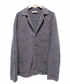Cruciani(クルチアーニ)の古着「ミックスウールジャケット」|グレー