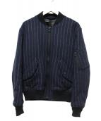 N.HOOLYWOOD(エヌハリウッド)の古着「MA-1ブルゾン」|ネイビー
