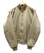 HOUSTON(ヒューストン)の古着「タンカースジャケット」|カーキ