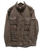 FJALLRAVEN(フェルラーベン)の古着「フィールドジャケット」|ブラウン