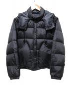 ARMEN(アーメン)の古着「リバーシブルダウンジャケット」|ブラック