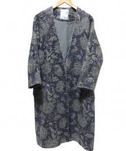 BEARDSLEY(ビアズリー)の古着「ジャガードプリントコート」
