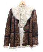 EPOCA(エポカ)の古着「ラムレザーコート」