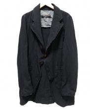 COMME des GARCONS HOMME PLUS(コムデギャルソンオムプリュス)の古着「ギャバ繊縮1Bジャケット」