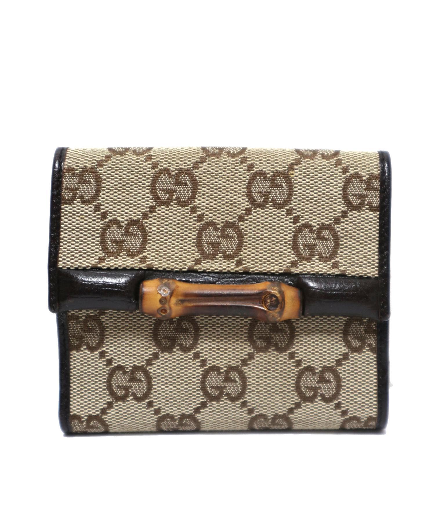 reputable site 4dd67 d0e52 [中古]GUCCI(グッチ)のメンズ 服飾小物 2つ折り財布