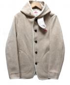 DANTON(ダントン)の古着「ウールモッサシングルフードジャケット」