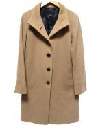 iCB(アイシービ)の古着「カシミヤ混コート」|ブラウン