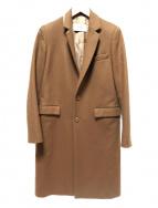 ASTRAET(アストラット)の古着「カシミヤ混チェスターコート」|ブラウン