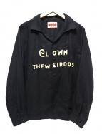WEIRDO(ウィアード)の古着「オープンカラーシャツ」|ブラック