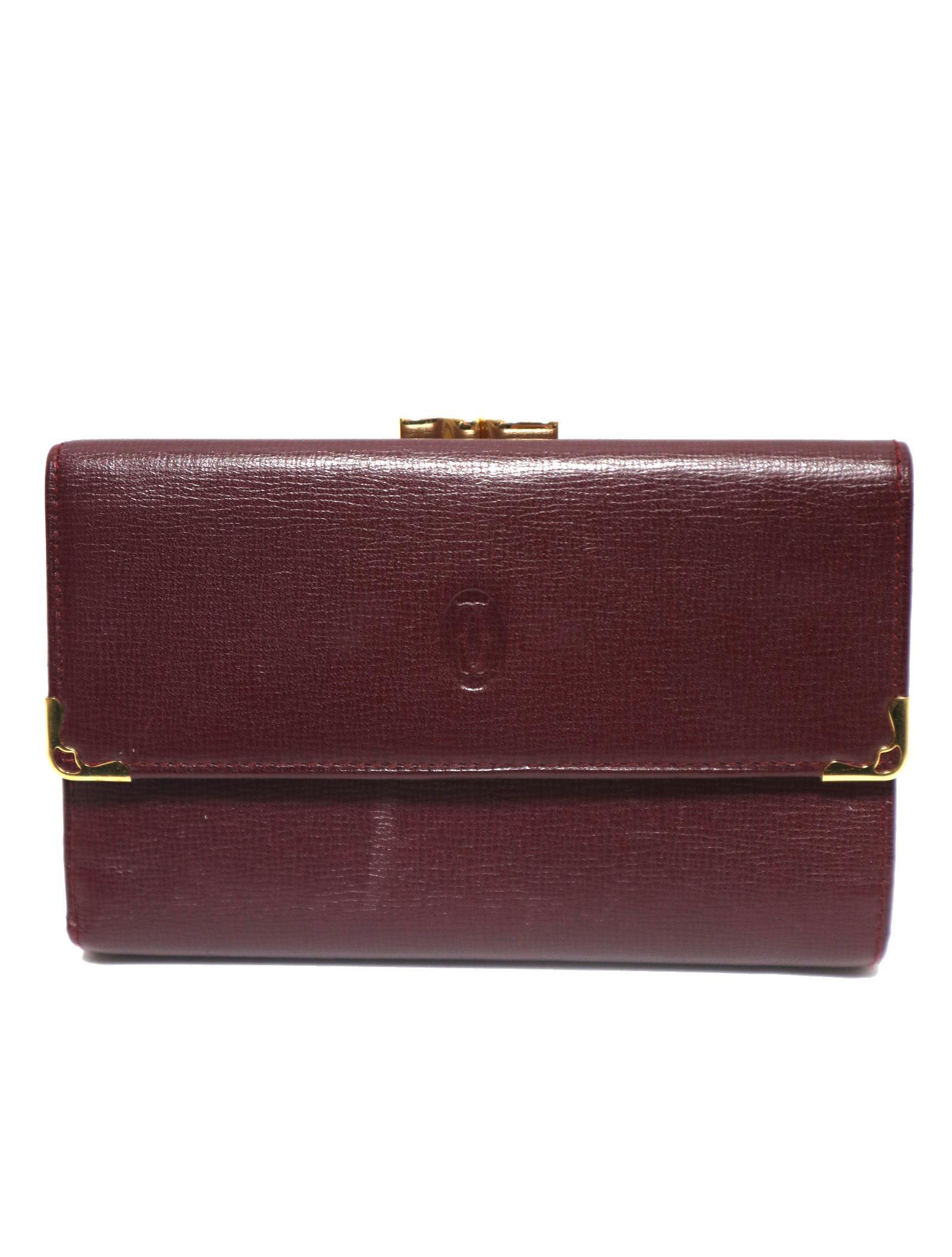 7eae39f57512 中古・古着通販】Cartier (カルティエ) がま口財布 マスト|古着通販 ...