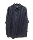 RRL(ダブルアールエル)の古着「ストライプシャツ」