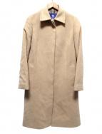 BURBERRY BLUE LABEL(バーバリーブルーレーベル)の古着「アンゴラ混比翼コート」