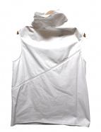 Calvin Klein(カルバンクライン)の古着「ノースリーブブラウス」|ホワイト