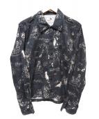 GANGSTERVILLE(ギャングスターヴィル)の古着「総柄シャツ」