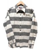 WEIRDO(ウィアード)の古着「コットンボーダーシャツ」