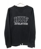 HUF(ハフ)の古着「プリントスウェット」