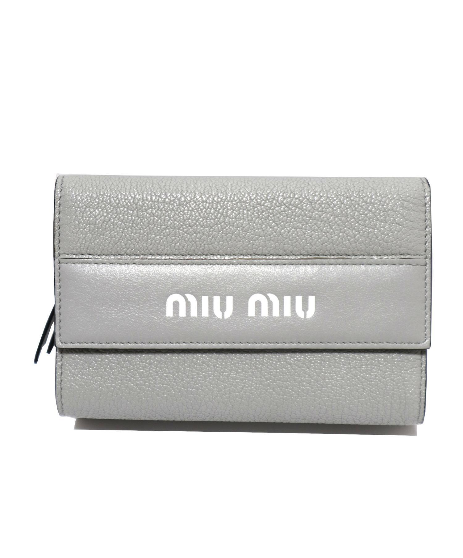 info for d30b2 8b64d [中古]MIU MIU(ミュウミュウ)のレディース 服飾小物 3つ折り財布