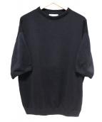 crepscule(クレプスキュール)の古着「半袖ニット」