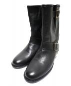 CORSO ROMA 9(コルソローマノーヴェ)の古着「ショートブーツ」|ブラック