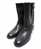 CORSO ROMA 9(コルソローマノーヴェ)の古着「ショートブーツ」 ブラック