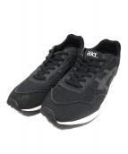 asics(アシックス)の古着「スニーカー」|ブラック