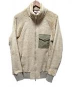Battenwear(バテンウェア)の古着「フリースジャケット」|ベージュ