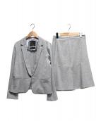 Reflect(リフレクト)の古着「EXセリアストレッチポンチセットアップスーツ」|グレー