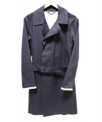 HANCOCK(ハンコック)の古着「ゴム引きコート」|グレー