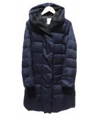MAYSON GREY(メイソングレイ)の古着「ロング丈ダウンコート」|ネイビー