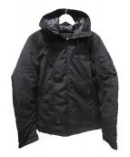 AVIREX(アヴィレックス)の古着「アクティブミリタリーフード中綿ジャケット」