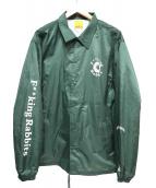 FR2(エフアールツー)の古着「コーチジャケット」|グリーン