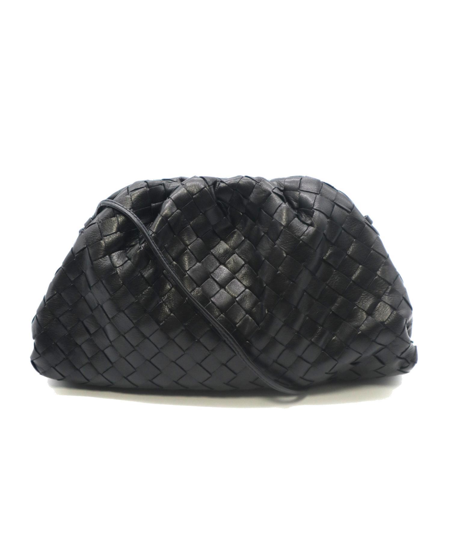 new style 424f2 e3a6c [中古]BOTTEGA VENETA(ボッテガベネタ)のレディース 服飾小物 イントレチャート ナッパ ザ・ポーチ