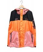X-LARGE×Columbia(エクストララージ×コロンビア)の古着「パブロフロードジャケット」 オレンジ×ブラック
