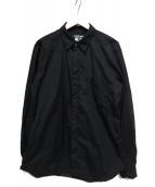 COMME des GARCONS HOMME DEUX(コムデギャルソン オム ドゥ)の古着「シャツ」|ブラック