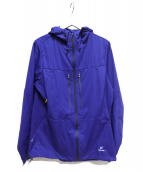 finetrack(ファイントラック)の古着「ジップジャケット」 ブルー