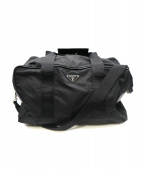 PRADA(プラダ)の古着「2WAYボストンバッグ」|ブラック