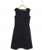 M-premierBLACK(エルプルミエラブラック)の古着「ノースリーブワンピース」 ブラック