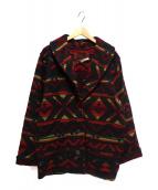 Woolrich(ウールリッチ)の古着「ウールジャケット」|レッド×ブラック