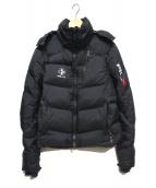 RLX RALPH LAUREN(アールエルエックス)の古着「ダウンジャケット」 ブラック