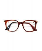 GUCCI(グッチ)の古着「伊達眼鏡」|ブラウン